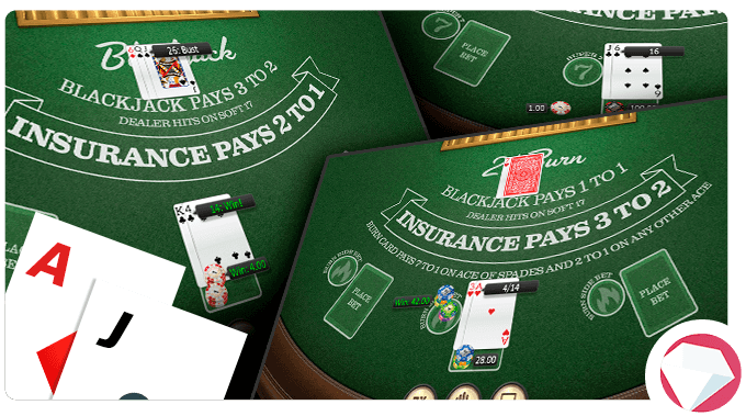 Online blackjack for real money game types