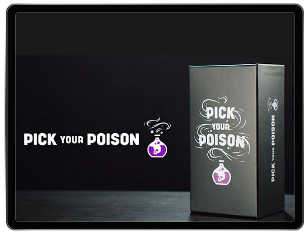 Pick Your Poison Adult Card Game