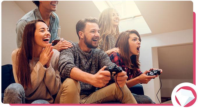 Playing Video games during Coronavirus Lockdown