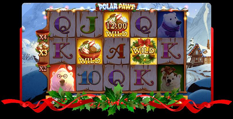 Polar Paws Slots QuickSpin Screen