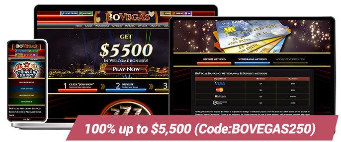 Real Money Casinos BoVegas