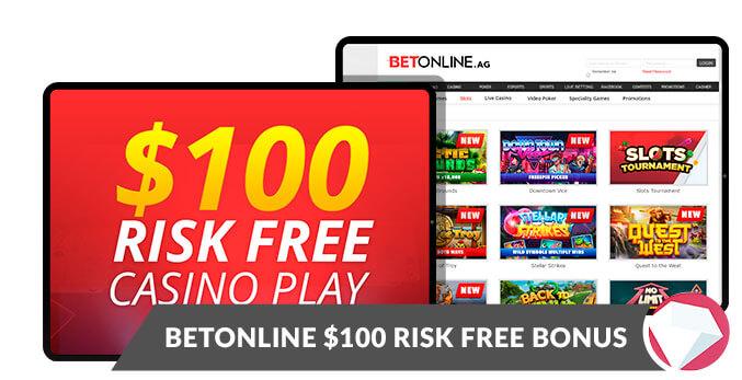 Risk Free Bonus 100 Betonline