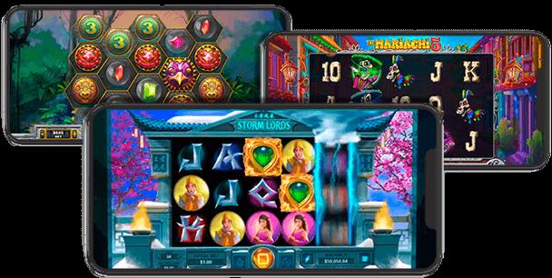 RTG slots mobile games