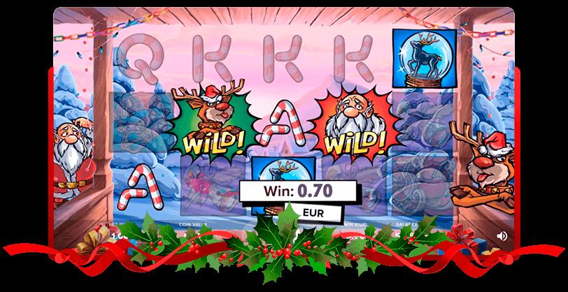 Santa vs Rudolf Slots Netent