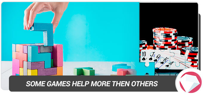 some games help brain function more