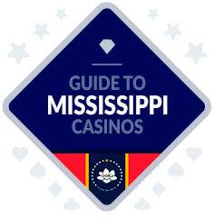 Casinos in Mississippi Badge