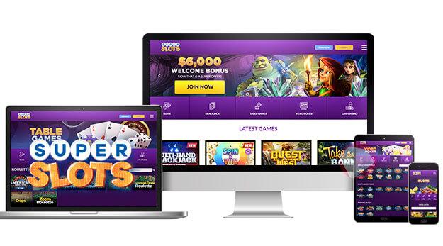 SuperSlots ag Online Casino