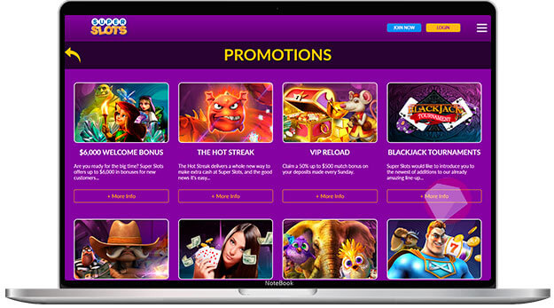 Promotions that are available at the casino