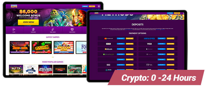 Image of SuperSlots Payout Speeds