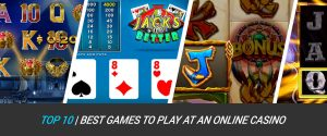 Top 10 Best Games to Play at the Casino – Popular Casino Games