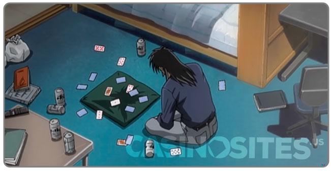 Image of Gambling Anime Kaiji