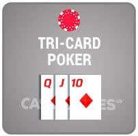 Tri-Card Poker Casino Poker Icon