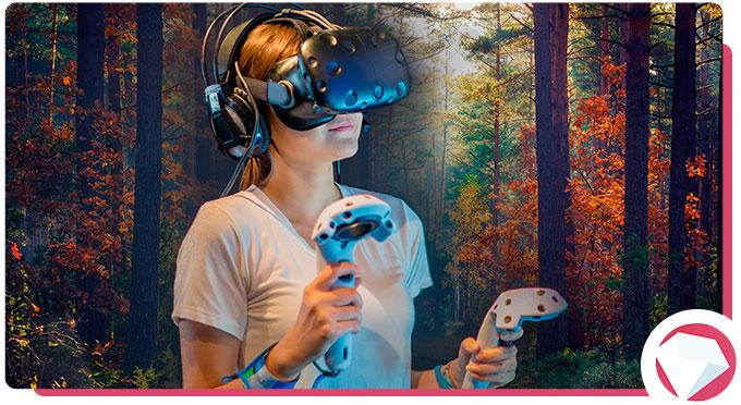 Virtual Reality During Lockdown