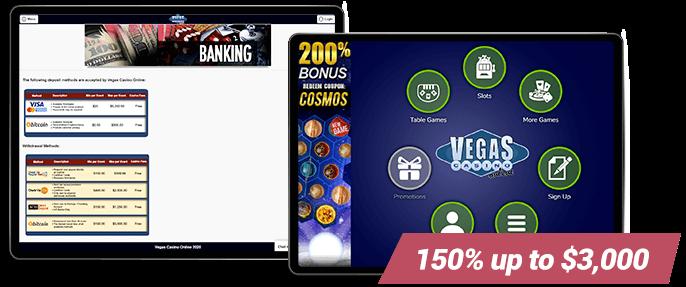 Vegas Casino Online Mobile Banking