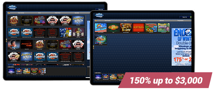 Vegas Casino Online Video Slots and Table Games