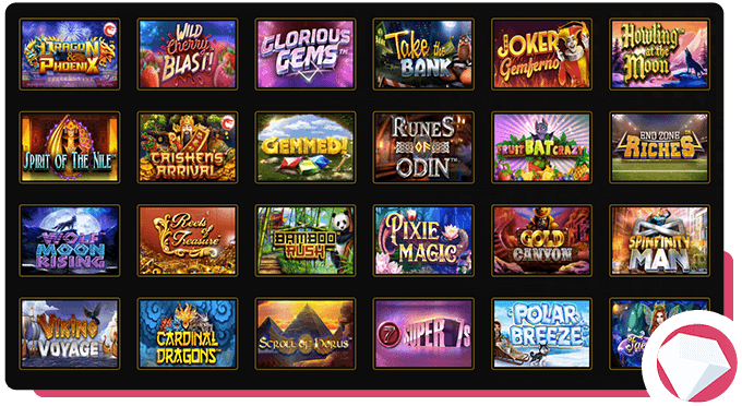 Wild Casion Slot Games Selection