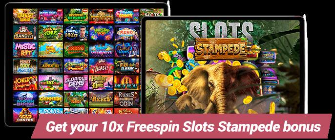 Wild Casino Slots Stampede Bonus
