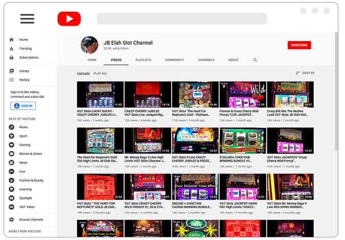 Image of JB Elah Slot Channel
